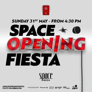 Luciano - Live @ Space Opening Fiesta 2015 (Ibiza) - 31.05.2015