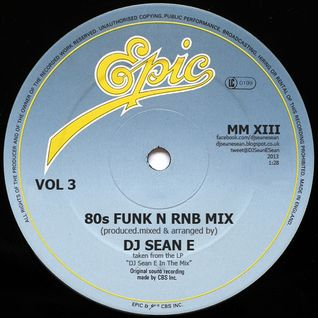 80s Funk N Rnb Mix Vol 3 - DJ Sean E