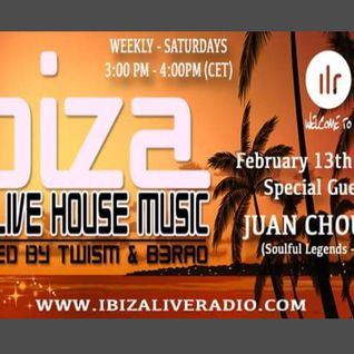 'WE LIVE HOUSE MUSIC' Special Guest Juan Chousa, hosted by TWISM & B3RAO.