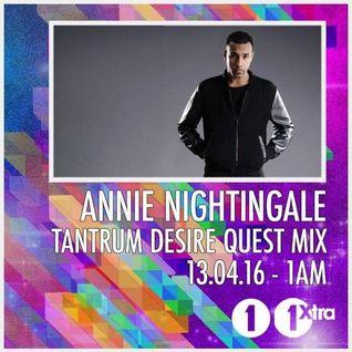 Tantrum Desire (Technique Rec.) @ DnB Quest Mix - Annie Nightingale Show, BBC Radio 1 (13.04.2016)