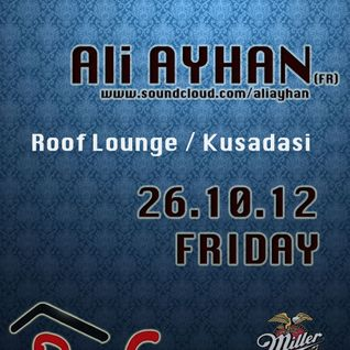 Ali Ayhan @ Roof Bar Live Cut HQ