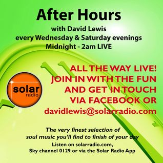 25-10-15 After Hours (the after party) on Solar Radio with David Lewis