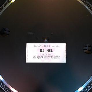DJ Mel - Live @ Stubb's - Trey's Indie Dance Memorial - 05.14.16