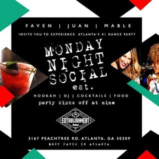 Monday Night Social in Buckhead Atlanta