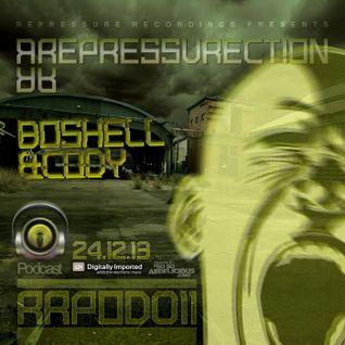 REPRESSURECTION - RRPOD011 -  Boshell & Cody (Dec 6th 2013 on DI.FM)