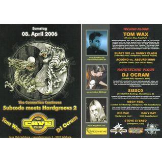 Dj Ocram @ Cave Club, Salzburg (Austria) 08.04.2006