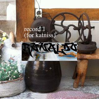 crema no. 5 / RONALDO: record 1 (for katniss)