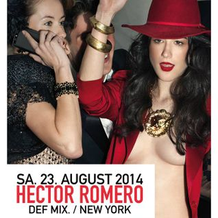 Hector Romero Live at Pacha Munich Aug 23 2014 Pt.1