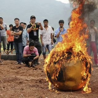 Burning the china shipyard