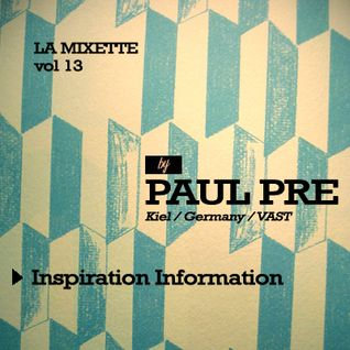 Paul Pre - La Mixette vol 13