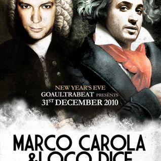 Loco Dice b2b Marco Carola live @ Atlantico Roma 01-01-2011