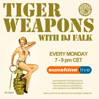 Sunshine Live Radio Tiger Weapons (Episode 182 - 03.08.2015)