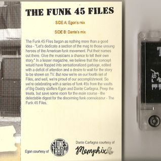 "Egon & Dante Carfagna ""The Funk 45 Files"""