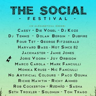 Sasha b2b Nic Fanciulli & Joris Voorn - Live at The Social 2015, Meadow Stage, Mote Park (12-9-2015)