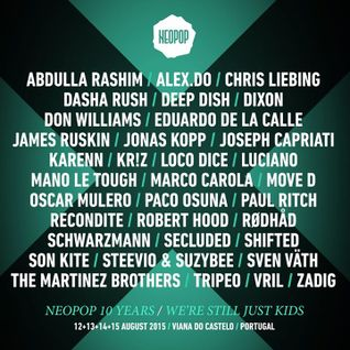 Deep Dish - Live at Neopop Festival 2015, Viana Do Castelo, Portugal (14-08-2015)
