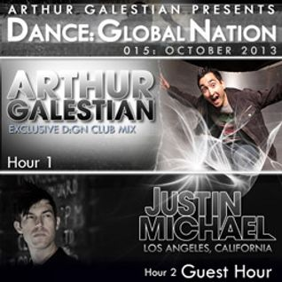 Dance: Global Nation 015 – Hour 2: Justin Michael Guest Mix (Oct 2013)