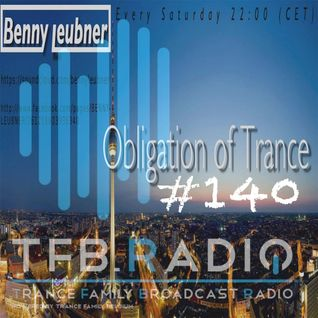 Podcast - Obligation of Trance #140