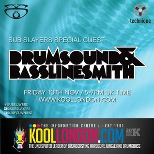 Drumsound & Bassline Smith On Sub Slayers Kool London Show Nov 2015