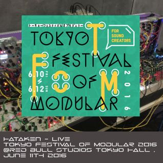 Hataken - Live at Tokyo Festival of Modular 2016