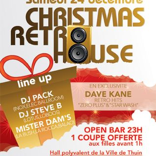 Dave Kane Live @ Christmas Retro House 2011 (Over 200 minutes live mix)