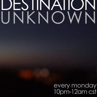 Sleep Dance - 88.7 Destination Unknown Radio Show (5.7.12)
