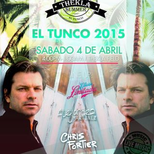 Chris Fortier - Live at Thekla Beach Festival, El Salvador (04-04-2015)