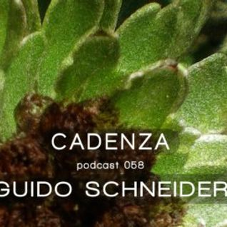 Guido Schneider @ Cadenza Podcast 058 (Source) (03-04-2013)