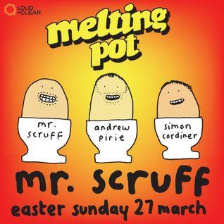 Mr Scruff at Glasgow Melting Pot, Easter Sunday 2016