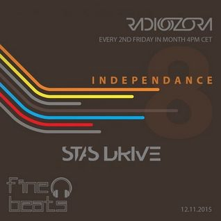 Stas Drive - Exclusive Guest Mix @ Independance 8RadiOzora [December 2015]