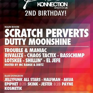 Basschimp - Live @ Basskonnection 2nd Birthday Feb 2015