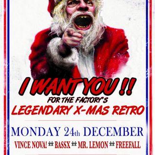 FreeFall at The Factory - Retro XMas - 24 December 2012