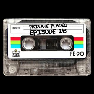 PRIVATE PLACES Episode 215 mixed by Athanasios Lasos