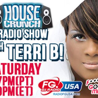 HC 161 TERRI B! present the Housecrunch with DJ Quincy in the mix
