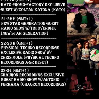 20150922 New Star Generation Radio Show w/Tim Overdijk (New Star Generation/STROM:KRAFT - Radio)