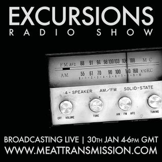 Excursions Radio Show #28 - Live on MeatTransmission January 2014
