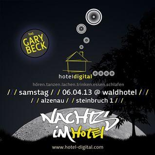 "Frank Savio Live @ Hotel Digital ""Nachts im Club #5 with Gary Beck"" (06.04.13)"