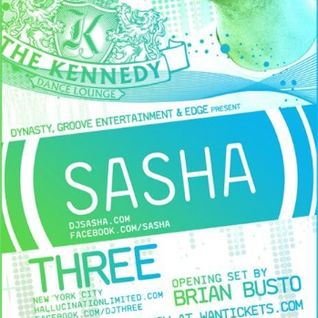 Sasha - Live The Kennedy Dance Lounge - Florida, USA (19-01-2012)
