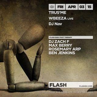 Live at Flash DC April 2015