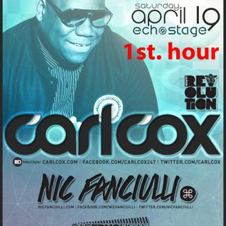 Saeed Younan Live (1st hour) Opening set for Carl Cox & Nic Fanciulli