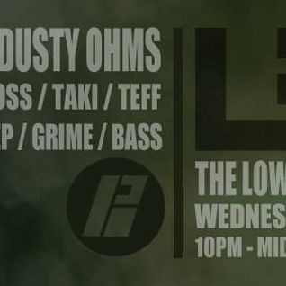 The Low End Music Show  on BassportFM - Feb 016 (Moss/Teff SPECIAL GUEST -Dusty Ohms)
