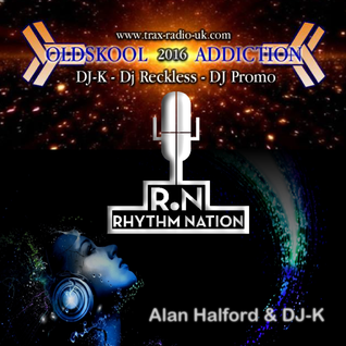 "O.S.A.  presents ""Rhythm Nation"" - DJ-K & Special Guest Alan Halford Live on Trax radio 30.1.16)"