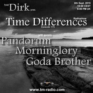 Dirk - Host Mix - Time Differences 175 (6th Sept. 2015) on TM-Radio