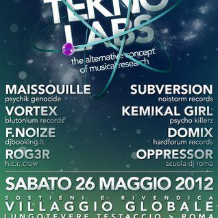 F. Noize Live @ Teknolab - 26 - 05 - 2012