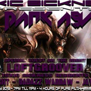 "Badazz Warraw@Toxic Sickness ""The Dark Asylum VII"" 18.07.2013"