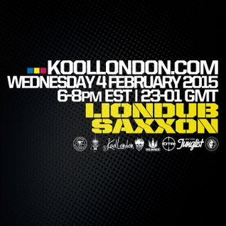 LIONDUB  MEETS SAXXON IN BROOKLYN - 02.04.14 - KOOLLONDON [JUNGLE DRUM & BASS]
