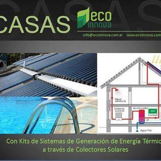 ECO INNOVA - COLECTORES SOLARES PARA AHORRO DE ENERGÍA