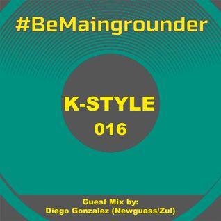 #BeMaingrounder 016 - Guest Mix by Diego Gonzalez (Newguass/Zul)
