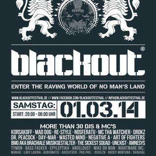 Rocky Montana live @ Blackout Festival 2014