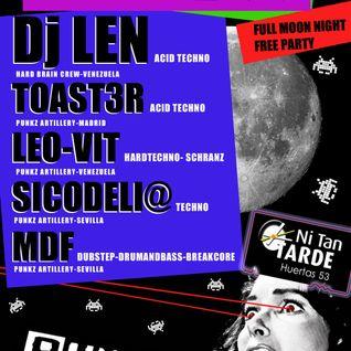 Leo-Vit _ Wa-T-KE CLUB (03) @Disco-Pub Ni Tan Tarde - Madrid/España (hardtechno-schranz) 2013
