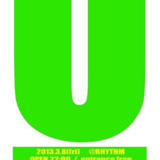2013-0308 unison @RHYTHM Live / DJhana